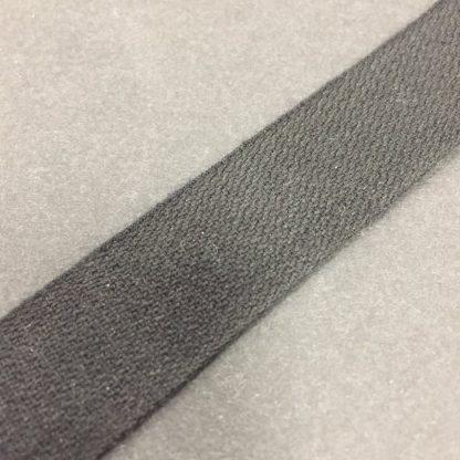 19mm Black Standard Cotton Tape